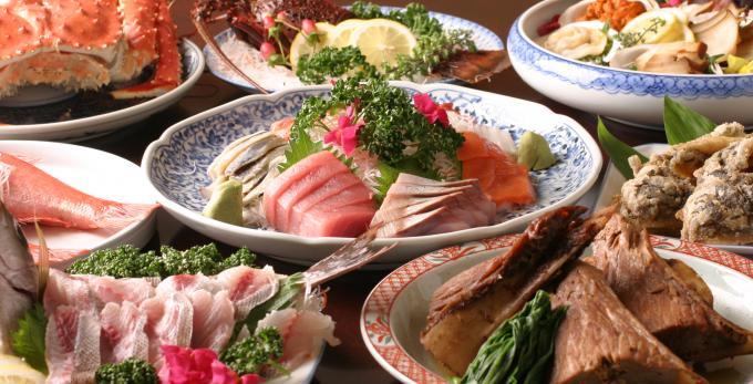 築地市場から毎朝仕入れる新鮮魚介が自慢の『築地たぬきや』