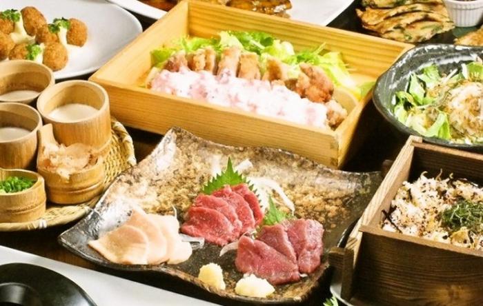 大人の和空間で九州を味わいながらの宴会に「創作酒庵 彩蔵 池袋」