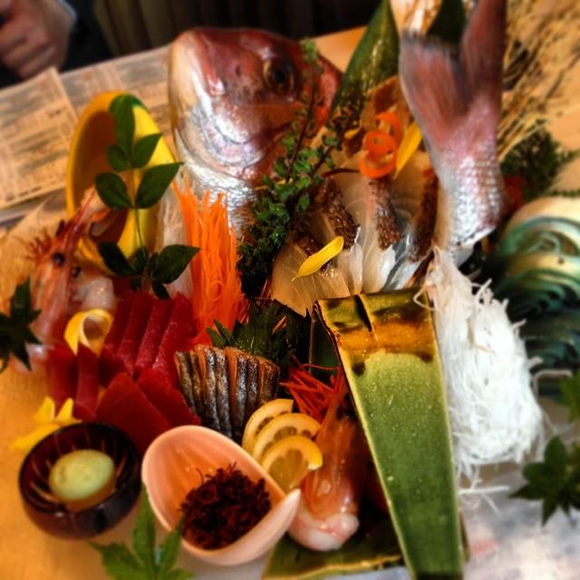 スタイリッシュな和モダン居酒屋!大人な美食パーティー 銀波@新宿