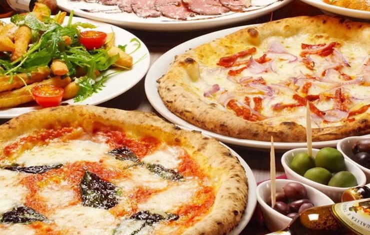 お台場海浜公園駅徒歩2分♪世界大会で優勝したピッツァを楽しもう!