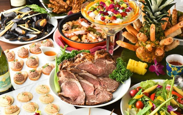 エスニック料理の宴会ならここ!新宿駅近でアクセス抜群「asian bistro PalaPa」