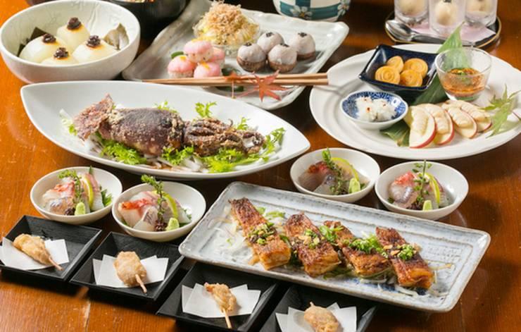 ガッツリ飲み&食べたい宴会なら新宿の隠れ家的居酒屋「うお・みっつ新宿店」へ