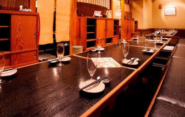 新橋エリアで鮮魚と日本酒を満喫しながら大人数宴会するならここ!