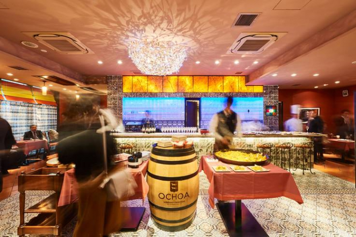 大人数の貸切パーティーにおすすめ!スペインクラブ銀座で本場スペイン料理を堪能