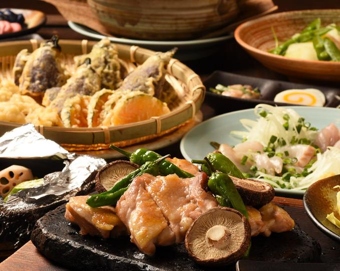 貸切パーティーは山口郷土料理が美味しい 福の花 市ヶ谷 九段店で