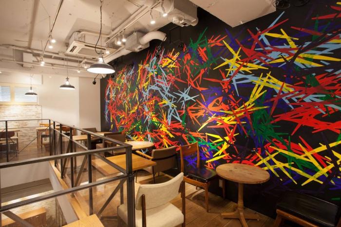 渋谷のNYスタイルカフェ JINNAN CAFE!!おしゃれな二次会いかが?